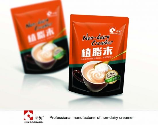 Lactose free milk sachets