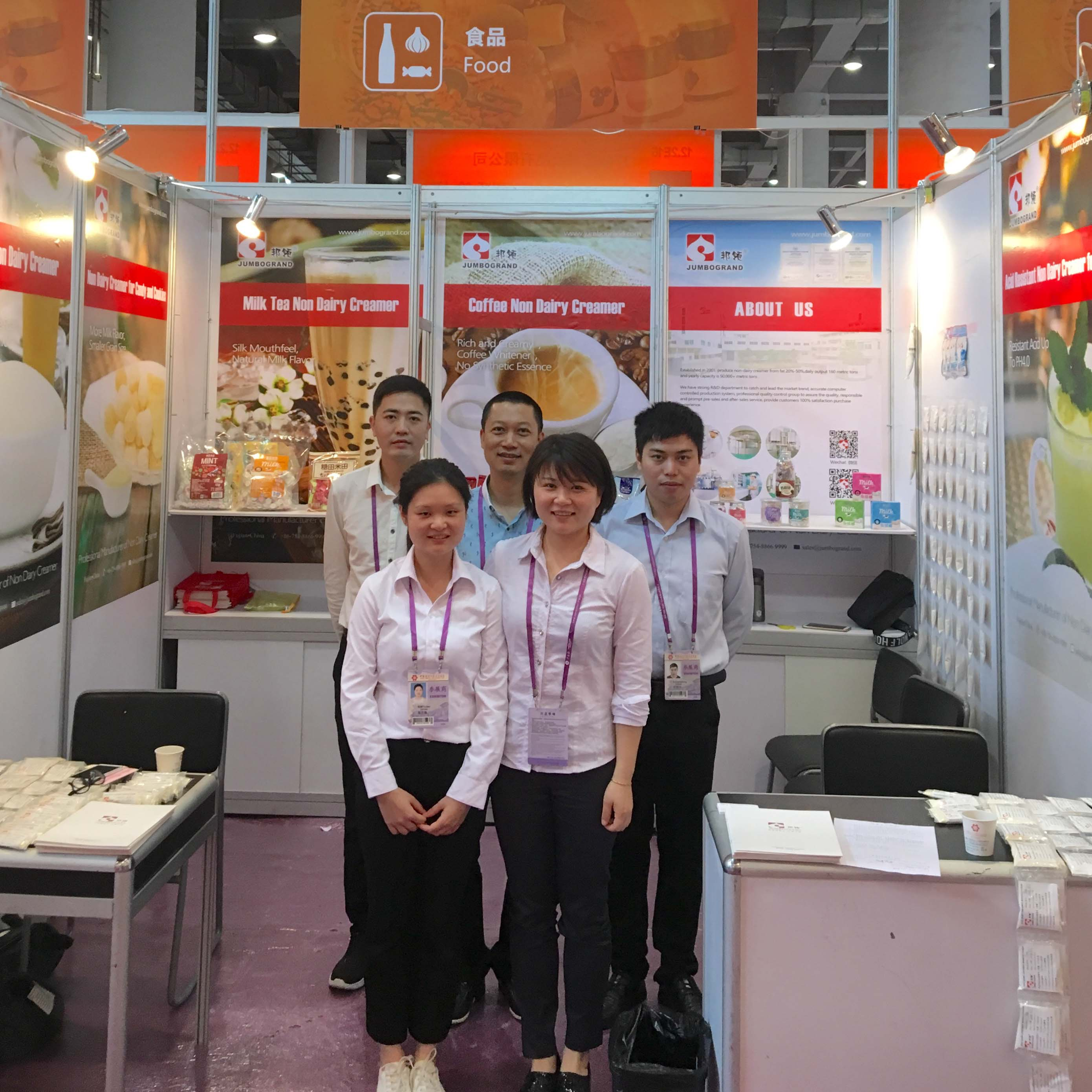 Fujian Jumbo Grand Food Co. Ltd. Finish 123th Spring Canton Fair
